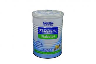 Nutren Diabetes Tarro Con 400 g – Sabor Vainilla Rx