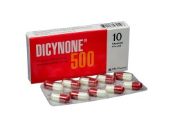 Dicynone 500 mg Caja Con 10 Cápsulas Rx