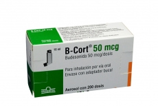 B Cort 50 mcg Caja Con Aerosol Con 200 Dosis Rx4