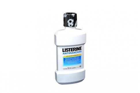 Listerine Whitening Antimanchas Frasco x 250 mL
