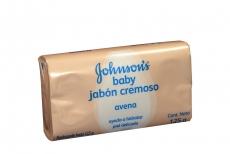 Johnson's Baby Jabón Empaque Con Barra Con 125 g - Avena