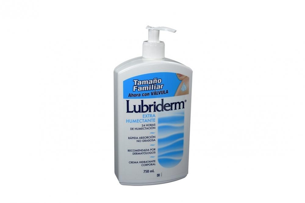 Lubriderm Crema Extra Humectante Con Válvula Frasco Con 750 mL