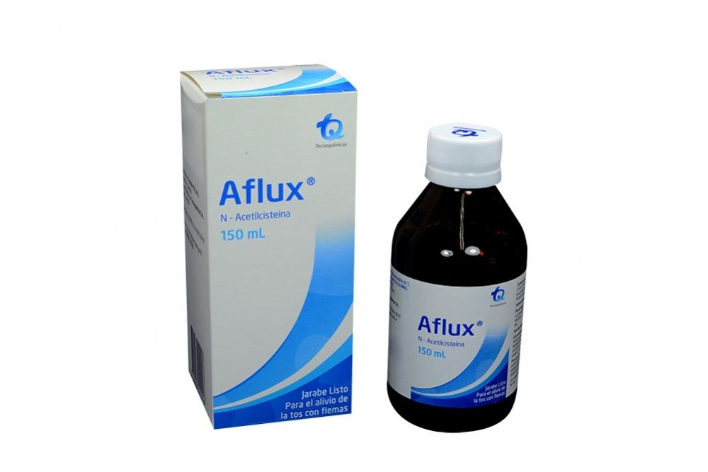 Aflux Jarabe Listo Caja Con Frasco Con 150 mL