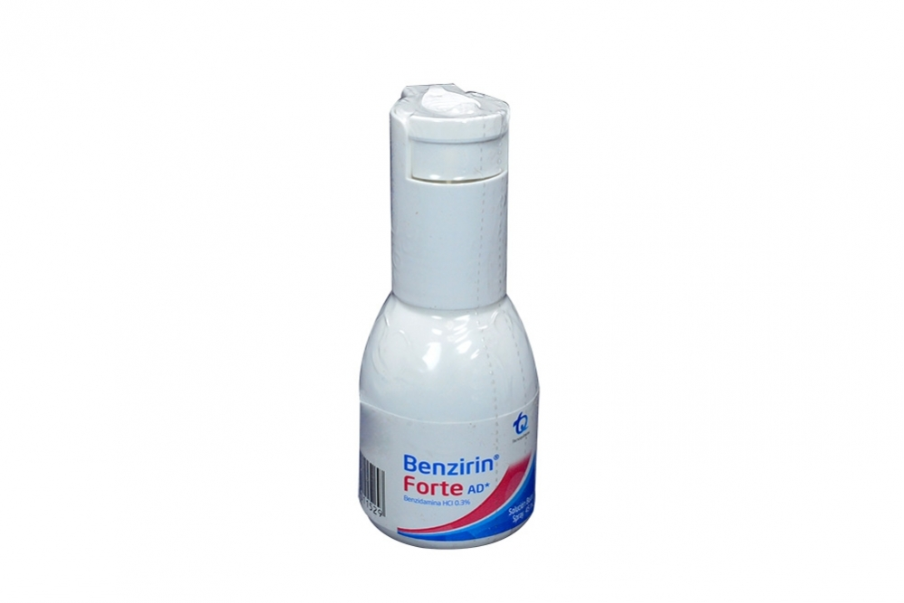 Benzirin Forte Ad 0.3% Frasco Spray Con 45 mL