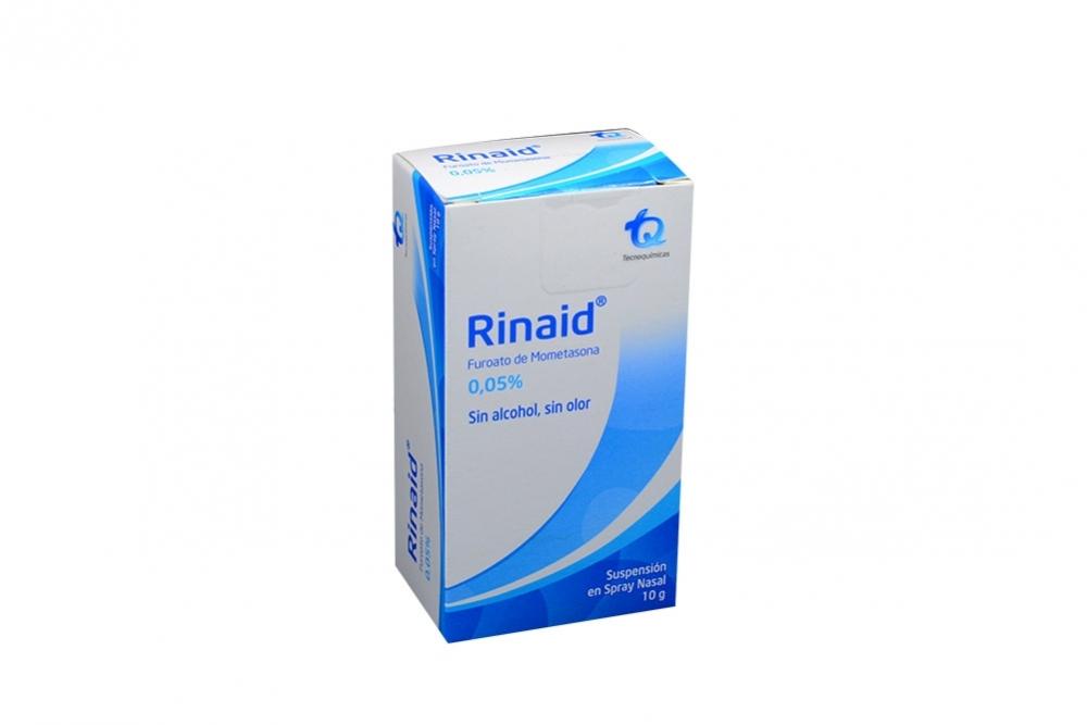 RINAID 0.05% SUSPENSIÓN SPRAY NASAL X 10 G Rx