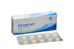 Uropran 5 mg Caja X  20 Comprimidos Rx