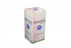 Claritromicina 250 mg / 5 mL Caja Con Frasco Con 50 mL Rx2