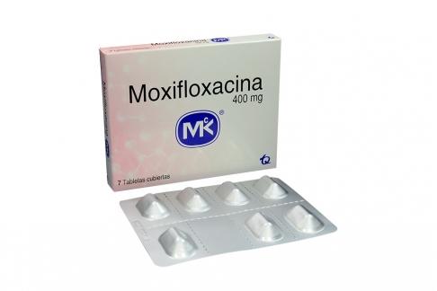 Moxifloxacina 400 mg Caja Con 7 Tabletas Rx2
