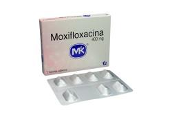 Moxifloxacina 400 mg Caja Con 7 Tabletas Recubiertas Rx2
