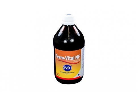 Ferro – Vital NF Frasco Con 340 mL – Sabor Vainilla