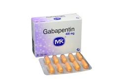 Gabapentin 400 mg Caja Con 30 Cápsulas Rx4