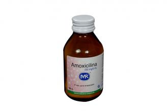 Amoxicilina 250 mg / 5 mL Frasco x 100 mL Rx2