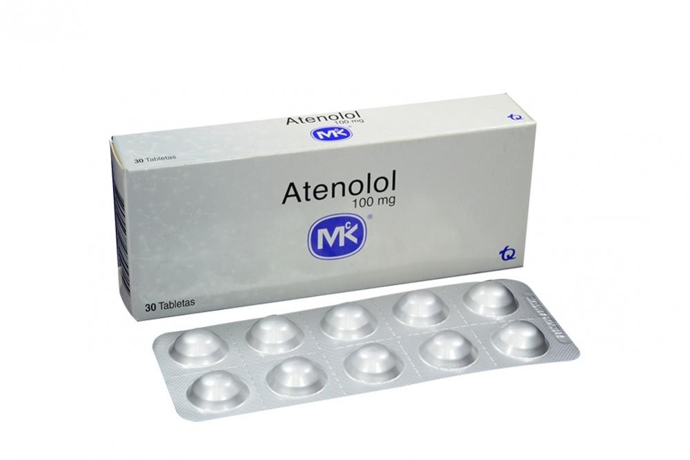 Atenolol 100 mg Caja Con 30 Tabletas Rx4