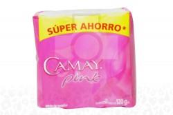 JABÓN CAMAY ROSADO - PACK X 3 BARRAS DE 120 G