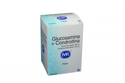 Glucosamina + Condroitina 1500 / 1200 mg Caja Con 15 Sobres Rx