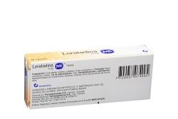 Loratadina 10 mg Caja Con 10 Tabletas