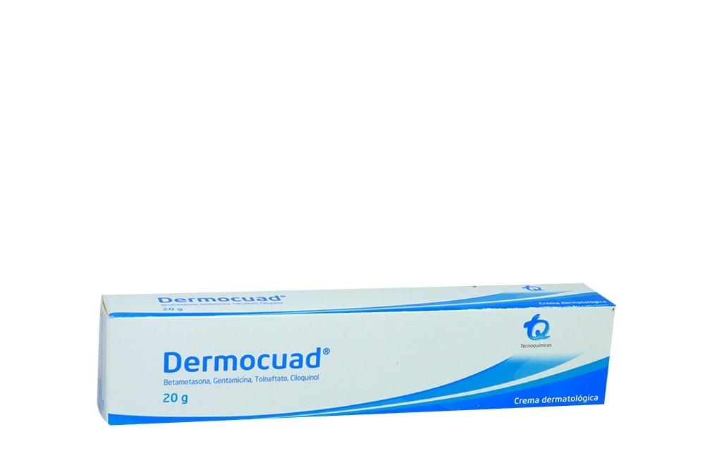 Dermocuad Crema Caja Con Tubo Con 20 g Rx2
