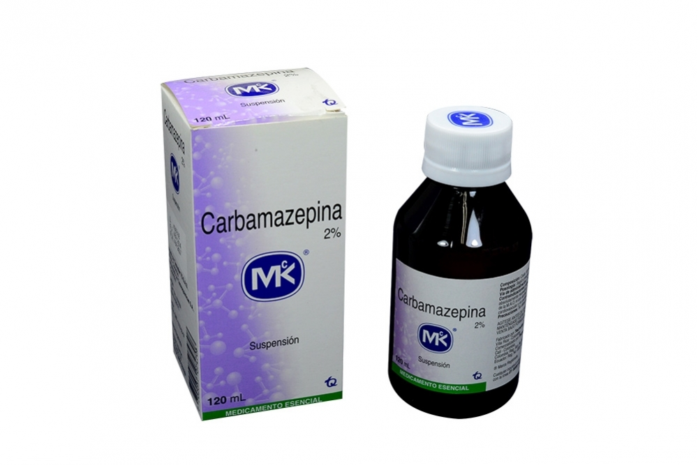 Carbamazepina 2% Caja Con Frasco Suspensión Con 120 mL Rx Rx1
