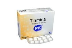 Tiamina 300 Mg Caja X 250 Tabletas RX