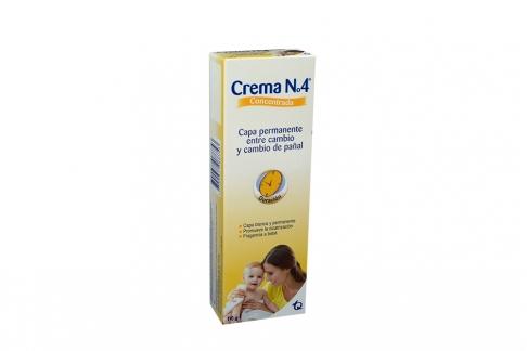 Crema N° 4 Concentrada Caja Con Tubo Con 110 g