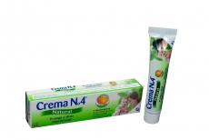 Crema N° 4 Natural Caja Con Tubo Con 20 g