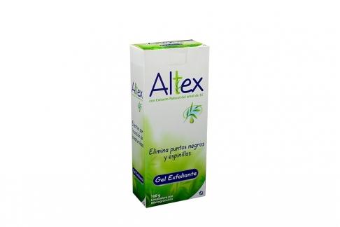 Altex Gel Exfoliante Caja Con Frasco Con 100 g - Barros Y Espinillas