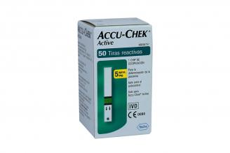 Accu-Chek Active Caja Con 50 Tiras Reactivas - Glicemia
