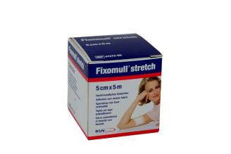 Gasa Adhesiva Fixomull Stretch 5 cm x 5 m Caja Con 1 Unidad