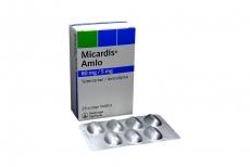 Micardis Amlo 80  / 5 mg Caja Con 28 Comprimidos Rx