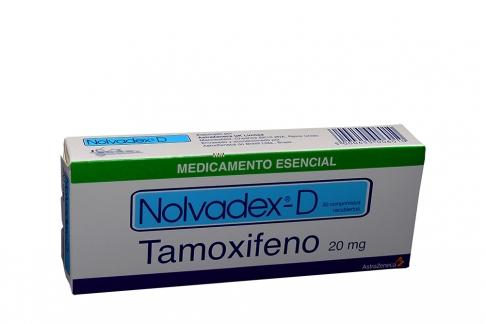 Nolvadex D 20 mg Caja X 30 Tabletas Rx
