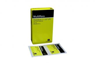 Multiflora Polvo Para Suspensión Caja Con 14 Sachets Con 1 g C/U