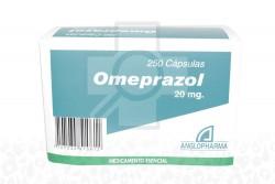 Omeprazol 20 mg Caja Con 250 Cápsulas  Rx