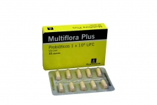 Multiflora Probióticos Plus Caja Con 10 Cápsulas
