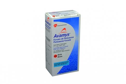 Avamys 27.5 mcg Suspensión Nasal Caja Con Spray Con 120 Dosis Rx Rx1
