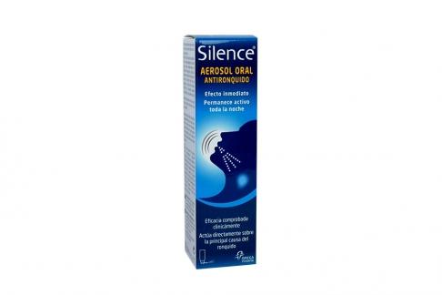 Silence Aerosol Antironquidos Caja Con Frasco x 50 mL Rx