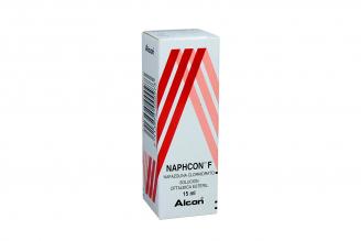 Naphcon F Solución Oftalmica Caja Con Frasco Con 15 mL