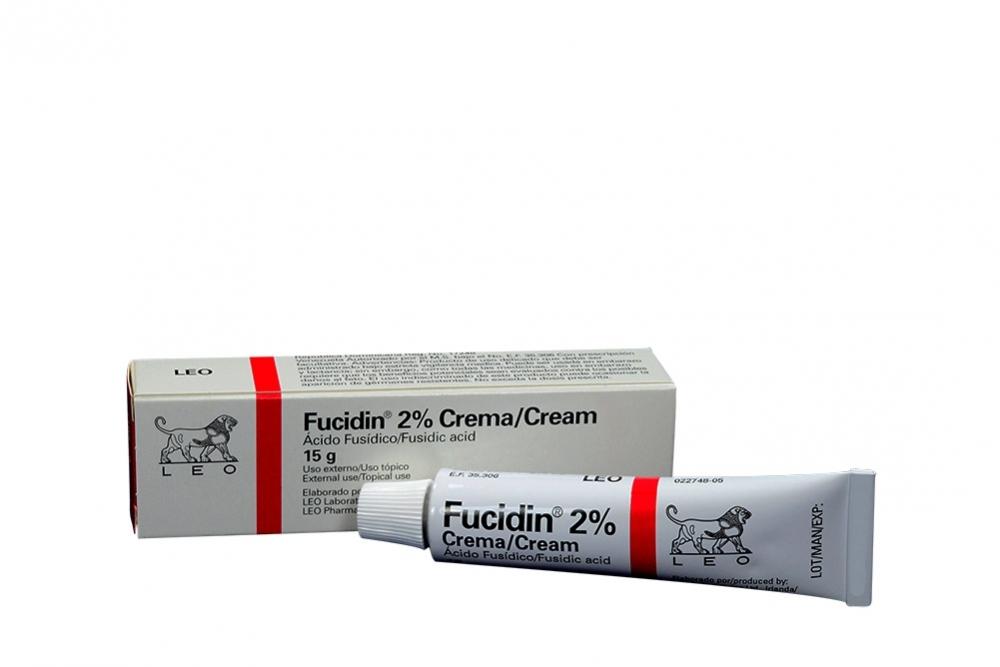 Comprar Fucidin Crema 20 mg Leo Tubo 15 g. En Farmalisto