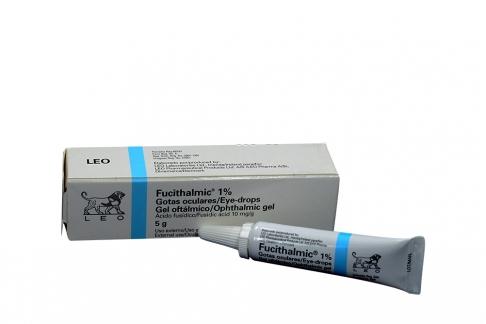 Fucithalmic 1% Gel Oftálmico Frasco Con 5 mL Rx
