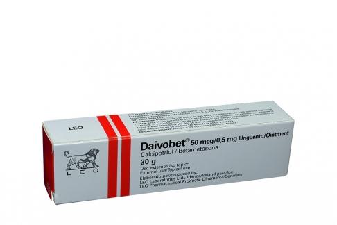 Daivobet Ungüento 50/0.5 mg Caja Con Tubo Con 30 g Rx