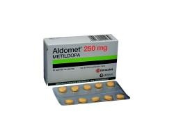 Aldomet 250 Mg Caja X 30 Tabletas RX
