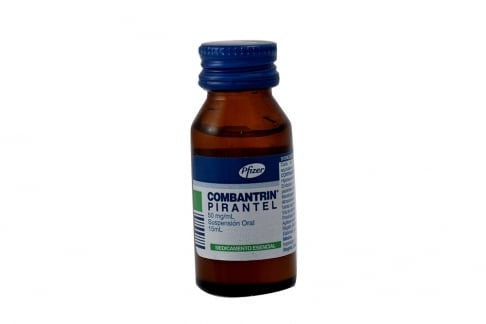 Combantrin Pirantel 50 mg Frasco Con 15 mL Rx