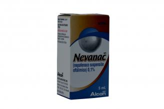 Nevanac 0.1% Suspensión Oftálmica Frasco X 5 mL Rx