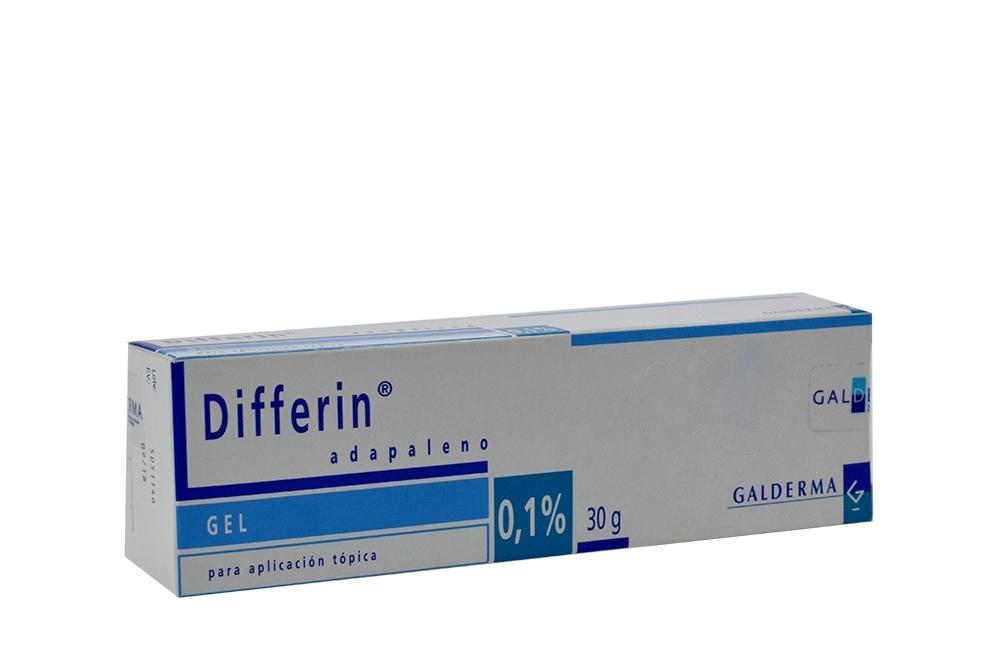 Differin Adapalene Gel Caja Con Tubo X 30 gr RX