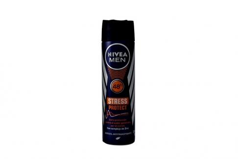 Desodorante Nivea Men Stress Protect 48 Horas Spray Con 150 mL