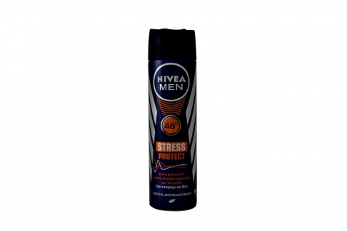 Desodorante Nivea Stress Protect Men Frasco Con 150 mL
