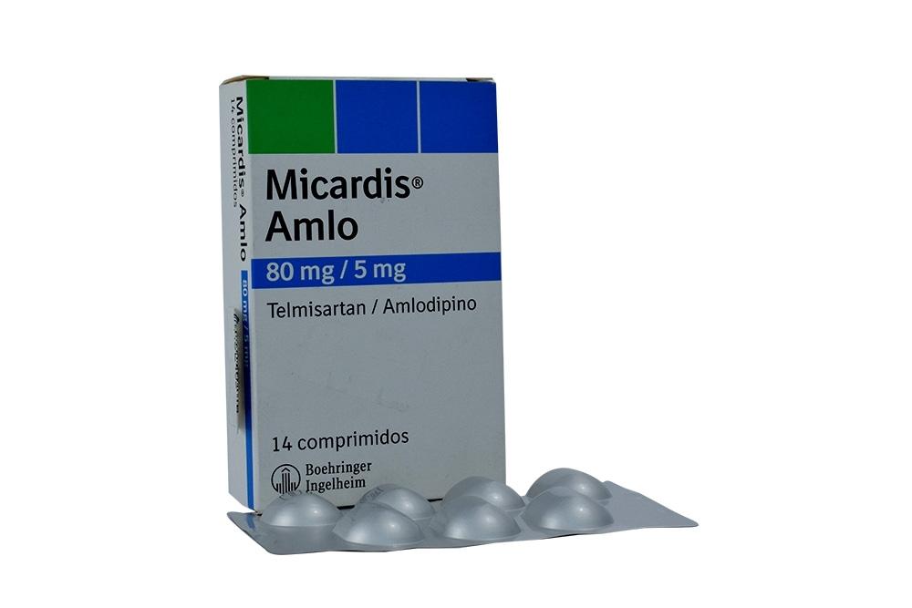 Micardis Amlo 80 / 5 mg Caja Con 14 Comprimidos Rx