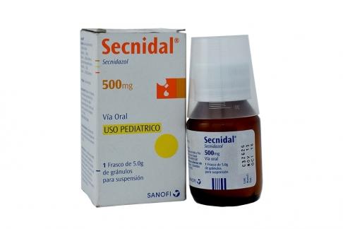 Secnidal 500 mg Caja Con Frasco Con 15 mL de Granulos Para Suspensión Rx
