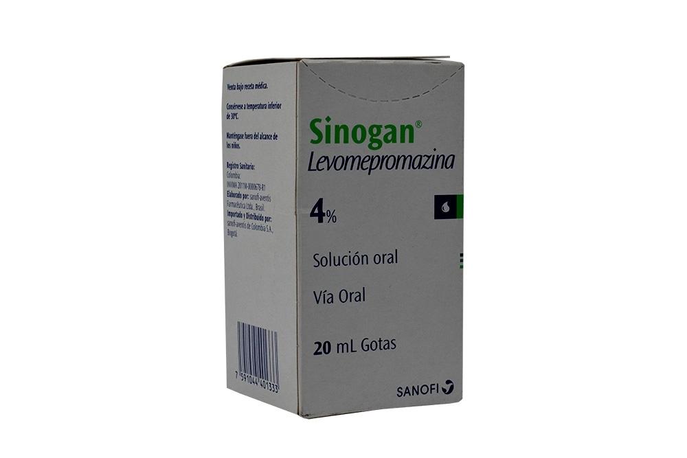 Sinogan 4% Gotas Caja Con Frasco Con 20 mL Rx4