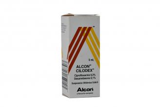 Alcon Cilodex Suspensión Oftálmica Frasco X 5 mL Rx