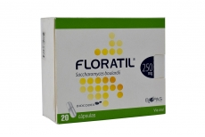 Floratil 250 mg Caja Con 20 Cápsulas